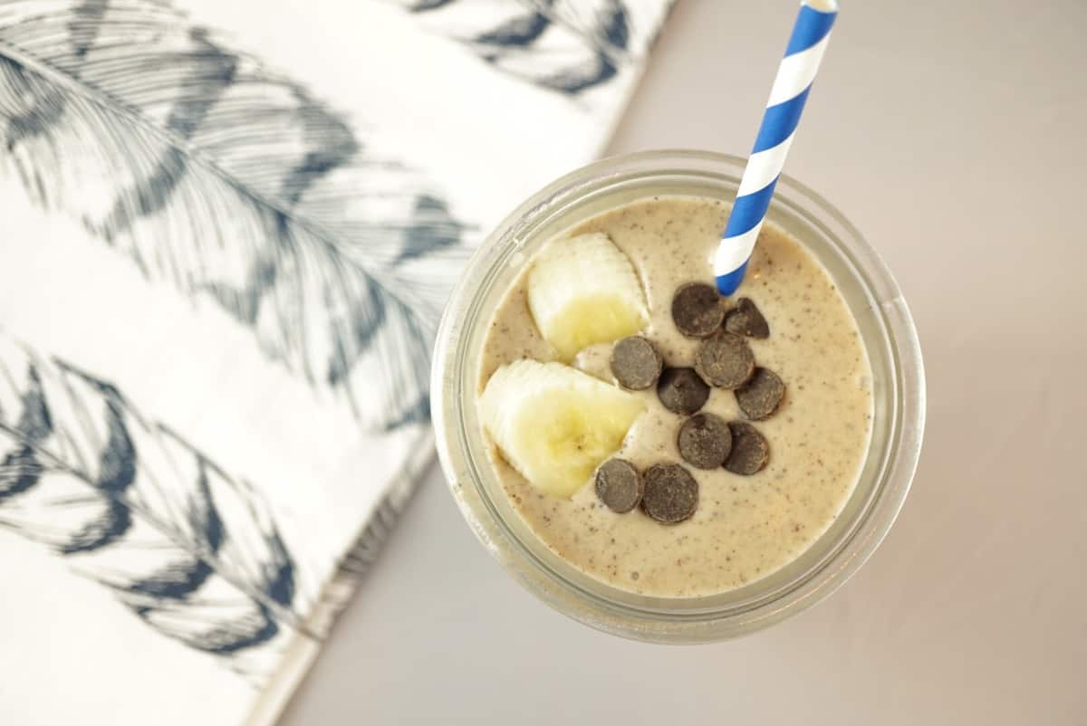 Healthy Peanut Butter Cup Shake