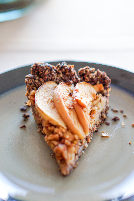 Apple Tart With Drop Cookie Crust Eat Your Way Clean