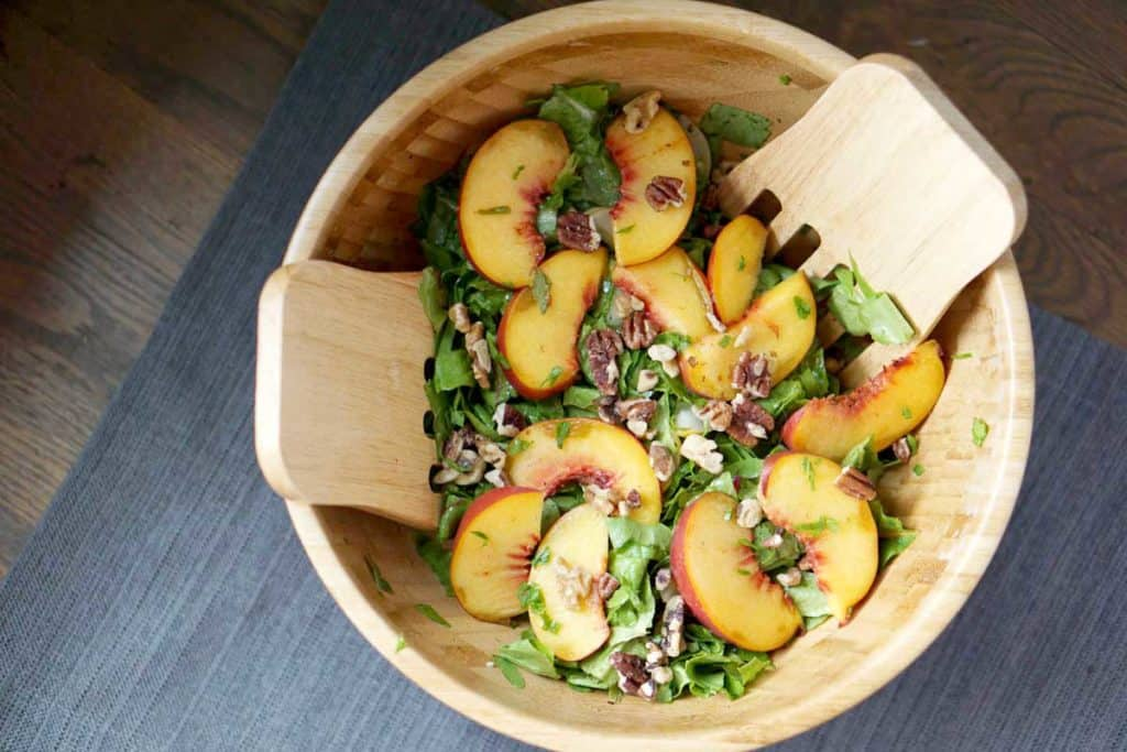 quick tossed salad for dinner or lunch - allergen friendly, gluten free and dairy free