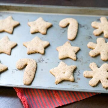 A healthier, gluten free and refined sugar free upgrade to a classic, ensuring you enjoy the holidays and the morning after: gluten free cut out cookie