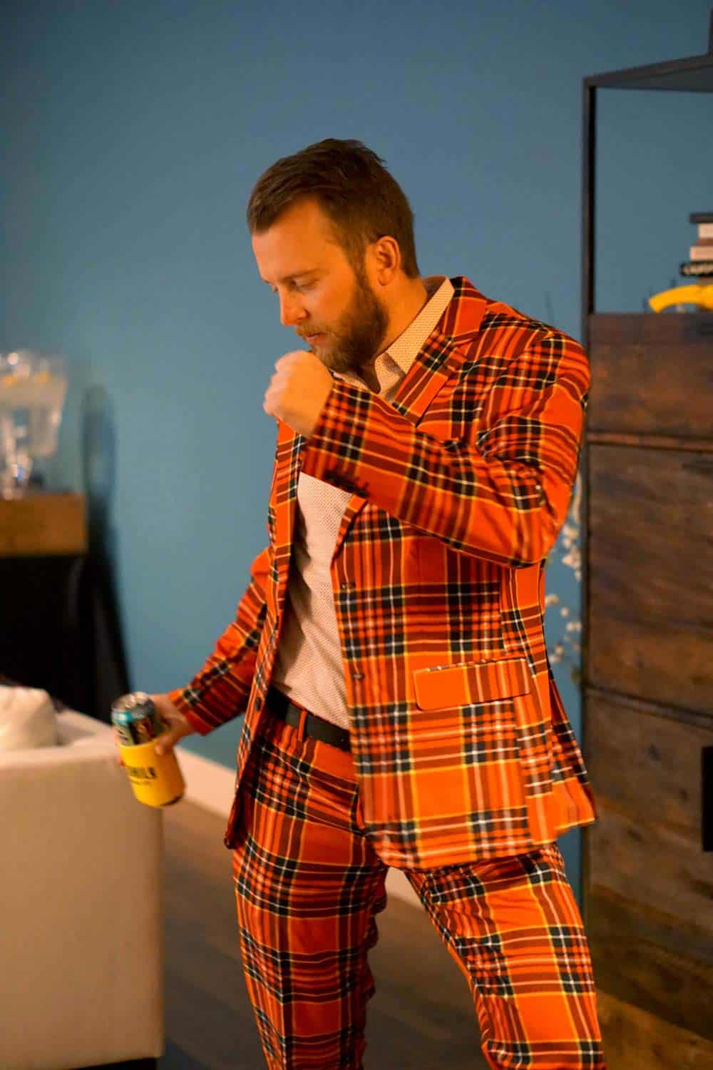 Plaid all the way at the lumberjack NYE. Find hte full menu for your own lumberjack party here