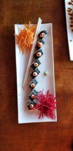 The Spicy Fish Role at Sushi La Barra in San Juan del Sur