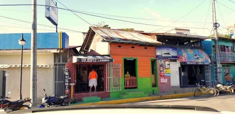Sushi La Barra is a sushi restaurant in the city center of San Juan del Sur, Ncaragua