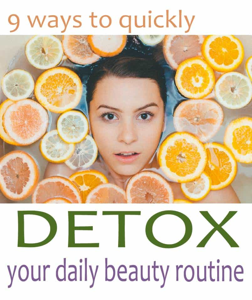 Quick, affordable and easy ways easy to reduce the toxins you encounter every day may be simpler than you think. Follow these t tips to detox your beauty routinge, and live a healthier and cleaner life.
