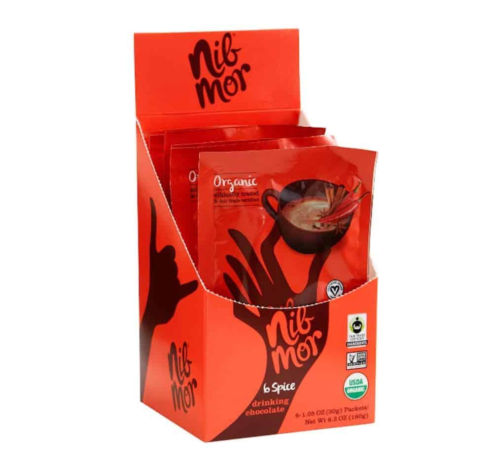 Nib More organic fair trade drinking chocolate