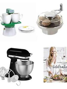 Assortment of gifts for foodies