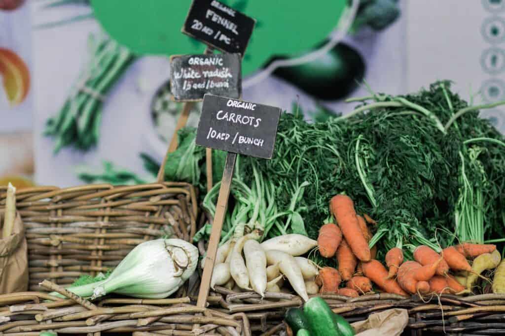 Buy Organic - produce