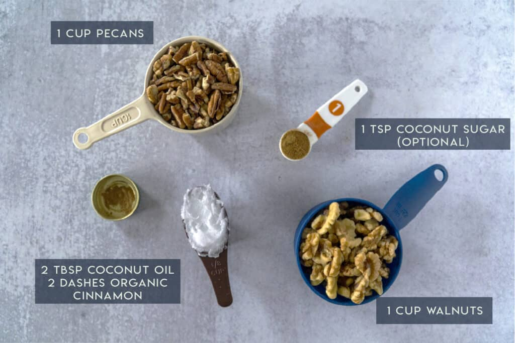 Moringa Cheesecake Crust Ingredients