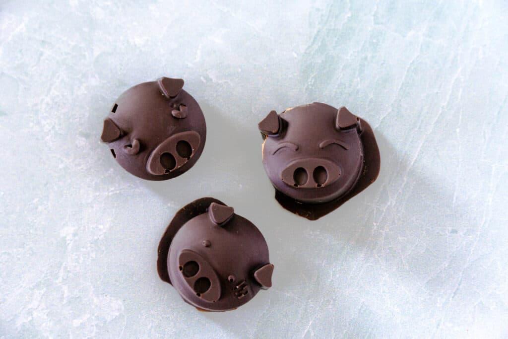 Chocoalte Coconut Butter Cup Piggies