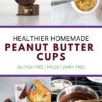 Healthier homemade peanut butter cups
