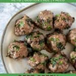 Beet Green Bison Meatballs