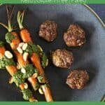 How to make bison jicama meatballs