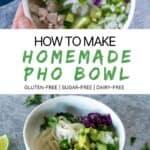 How to Make Homemade Pho Bowls
