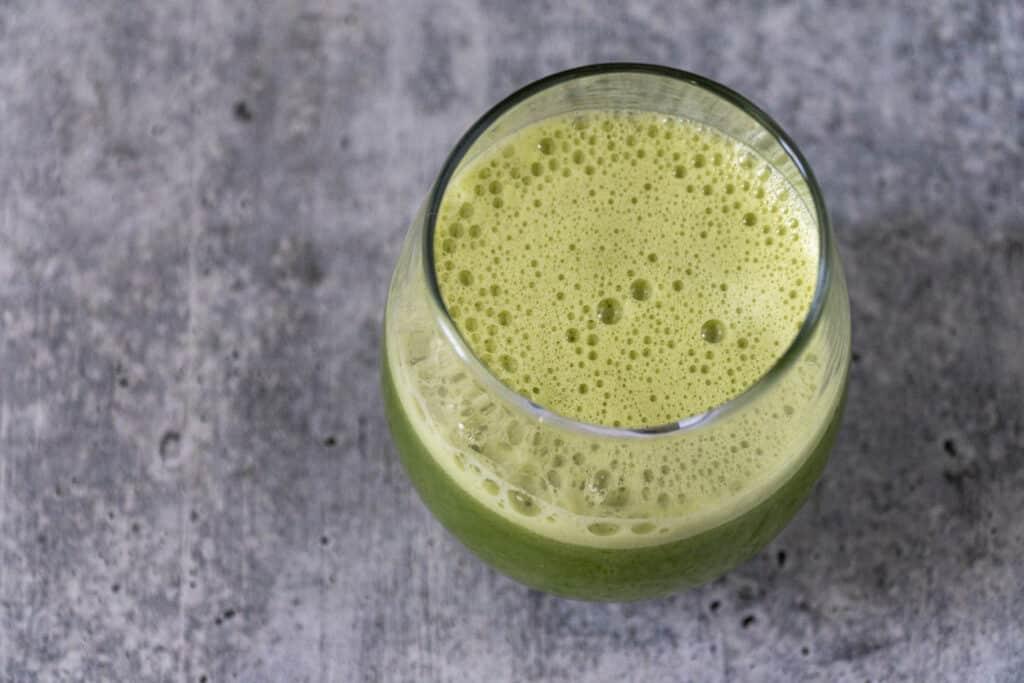 Fresh Foamy celery juice