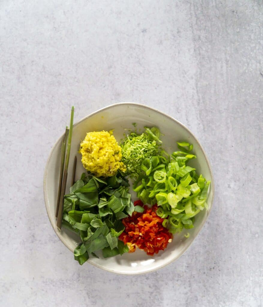 Green Curry Herbs