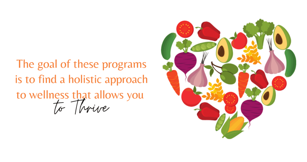 holistic approach allows you to thrive