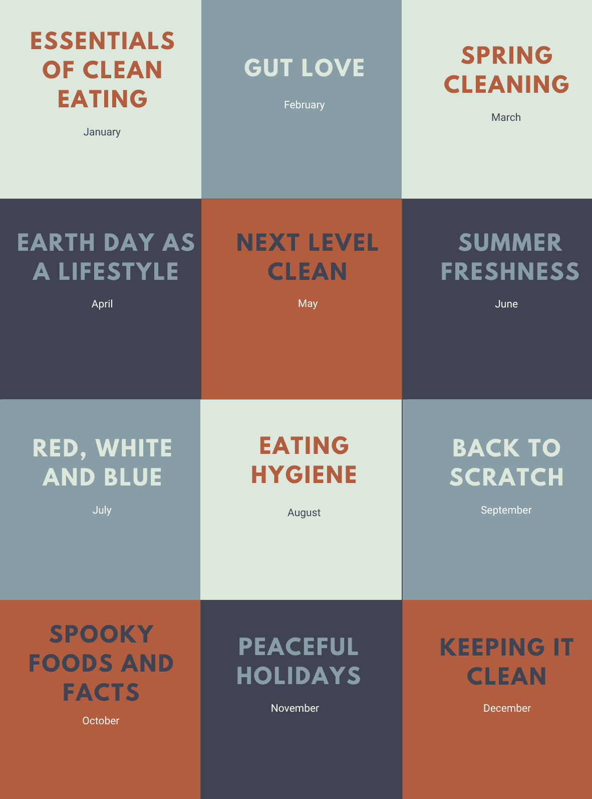 50 tweaks to health topic grid